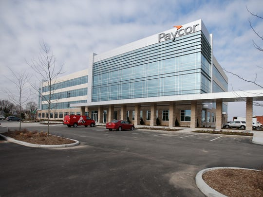 A 2014 photo of Paycor's headquarters in Norwood
