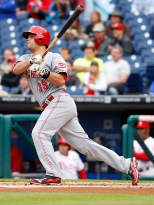 Devin Mesoraco returned to the Reds lineup Friday.
