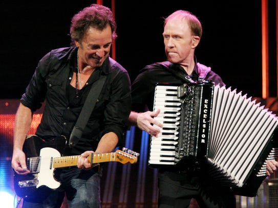 In this photo released by Backstreets.com, Bruce Springsteen