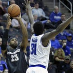 Former Eastern High standout LaDontae Henton could be picked in the late stages of Thursday's NBA draft.