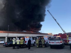 Fire causes $900K worth of damage to Indio commercial building near Highway 111