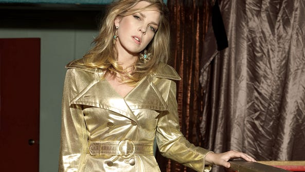 Diana Krall, jazz pianist and singer, is seen in this