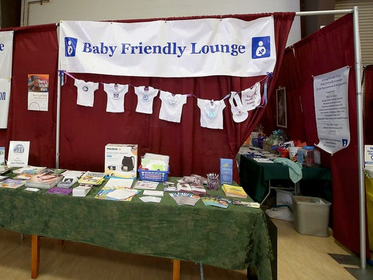 The Baby Friendly Lounge in the Kitsap Sun Pavilion at the Kitsap County Fair.