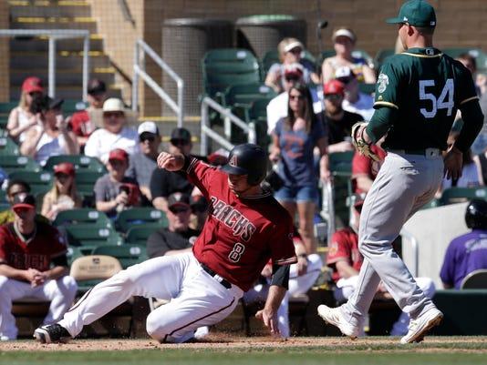 MLB: Spring Training-Oakland Athletics at Arizona Diamondbacks