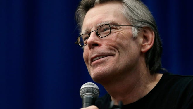 "Novelist Stephen King will discuss ""End of Watch"" June 18 in Reno."