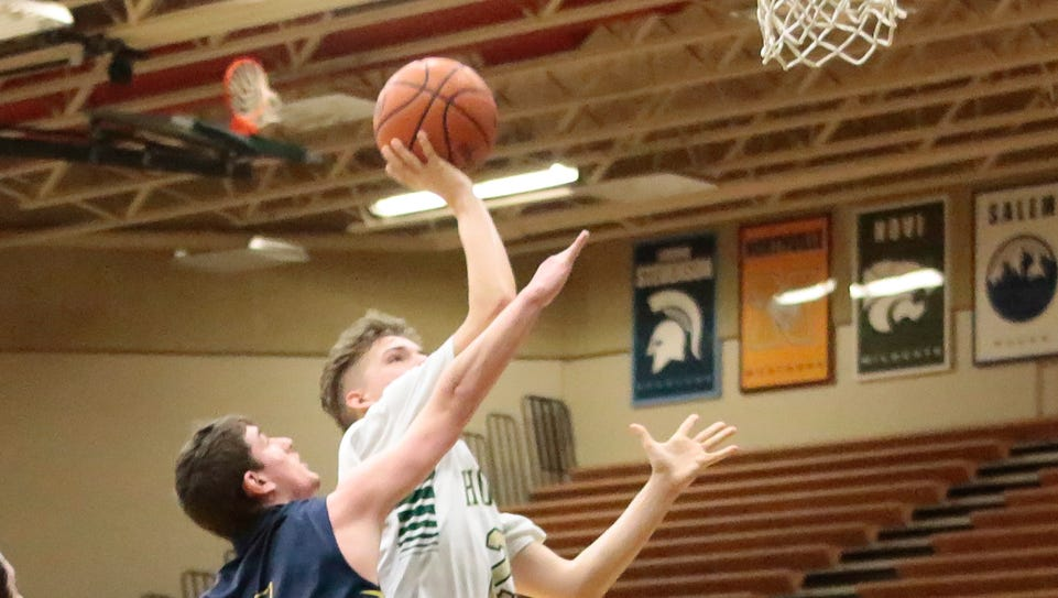 Howell's Josh Palo scores two of his team-high 22 points