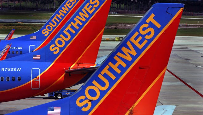 A Southwest Airlines flight from Sacramento, California, had to make an emergency landing in Los Angeles Saturday.
