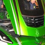 Paul Teutul's custom Corvette unveiled, promoting 811