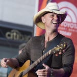 """Kenny Chesney performs on NBC's """"Today"""" show on Tuesday, Sept. 23, 2014, in New York."""