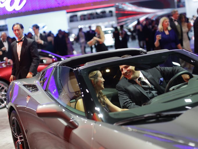 2016 Detroit Auto Show Charity Preview Gallery 4