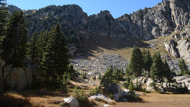 Pecos Wilderness at Katherine Lake, New Mexico