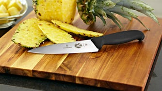 The Victorinox 6-inch chef's knife strikes the right balance between price and quality.