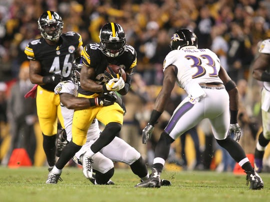 Le'Veon Bell and C.J. Mosley were the two biggest Jets signings in free agency.  (Charles LeClaire-USA TODAY Sports)