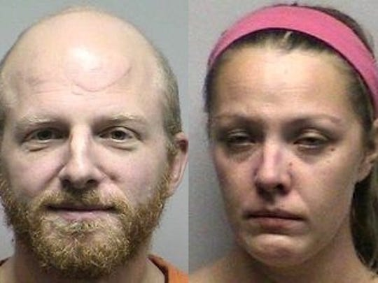 A 33-year-old man and 29-year-old woman had sex in a squad car after being pulled over for drunken driving in Oconto County.
