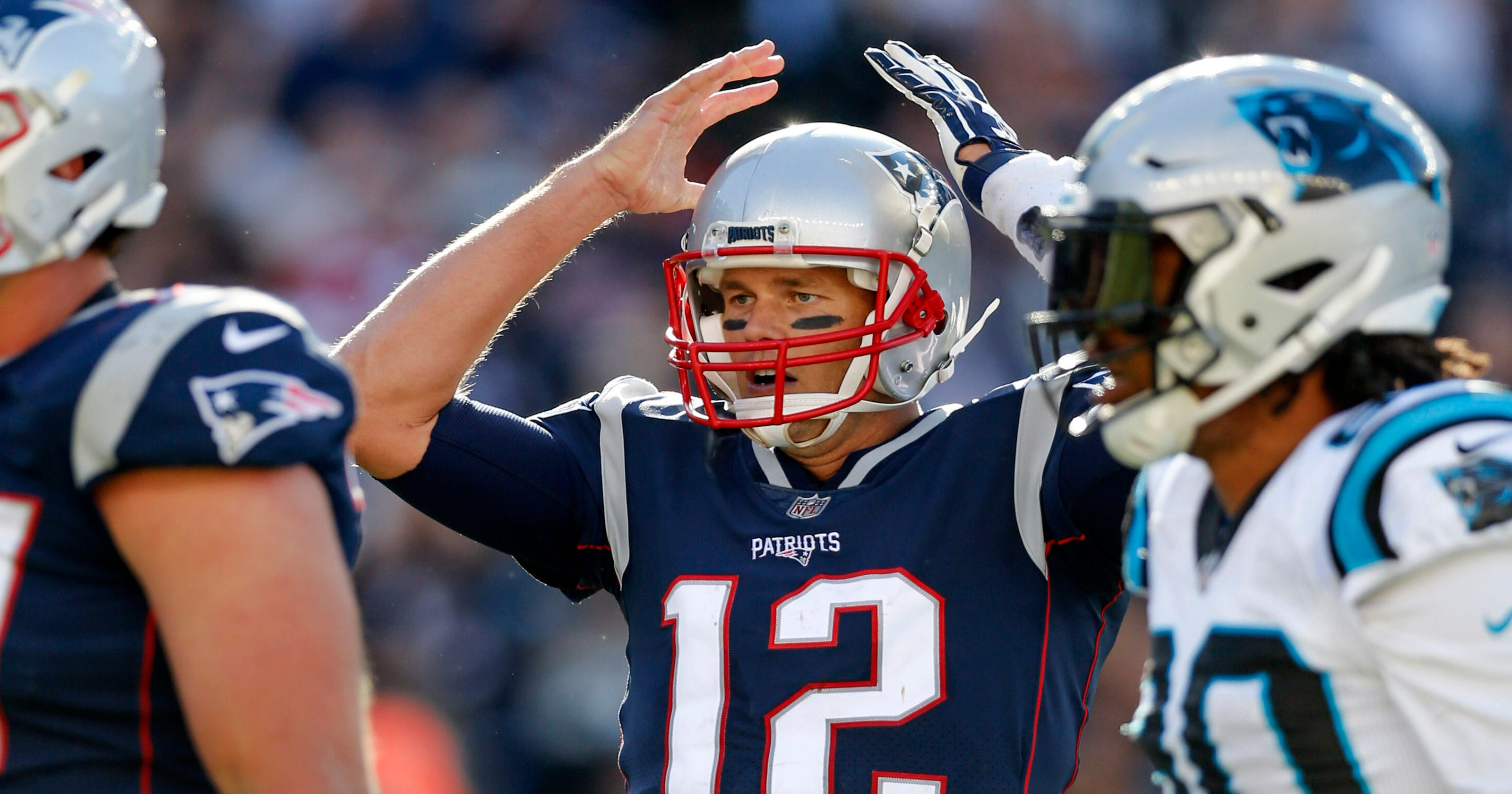 e2a6ac76b Patriots in shambles  Even Tom Brady couldn t salvage win vs. Panthers