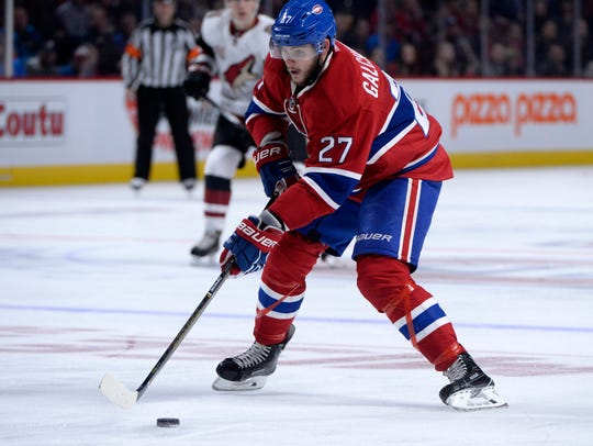 Oct 20, 2016: Montreal Canadiens forward Alex Galchenyuk