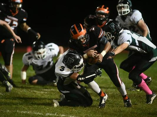 Hanover improved to 6-0 with a 53-14 victory against Fairfield on Friday, Oct. 9.