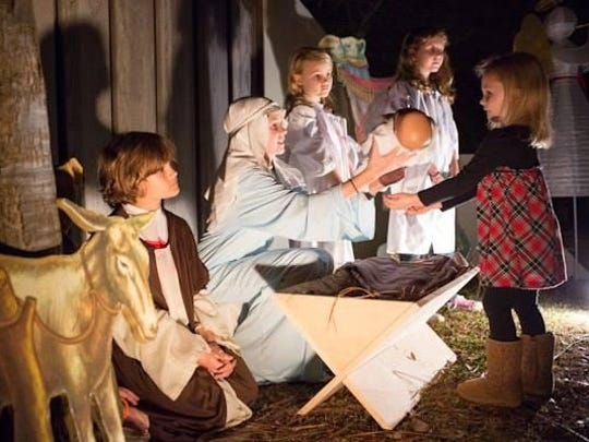 Jackson's Most Incredible Christmas Fest Saturday and Sunday includes a live nativity.