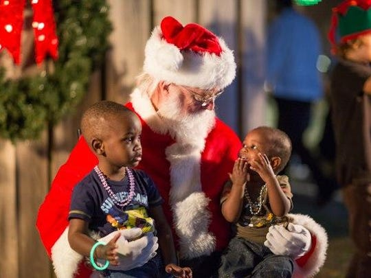 Santa will be part of Jackson's Most Incredible Christmas Fest Saturday and Sunday.