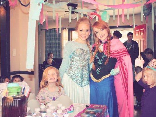 Springfield's Elsa and Anna
