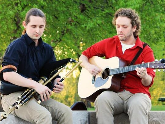 Celtic music duo Lachlan perform at Nine Irish Brothers in West Lafayette this Saturday.