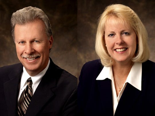 Commissioners David Humke and Bonnie Weber