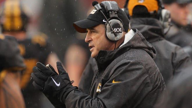 Missouri coach Gary Pinkel is the all-time winningest coach for the Tigers — finishing 117-70 in 15 seasons at Missouri.