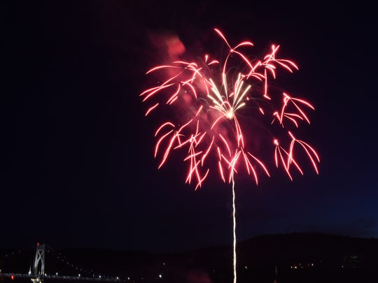 The 2016 City of Poughkeepsie Independence Day Fireworks