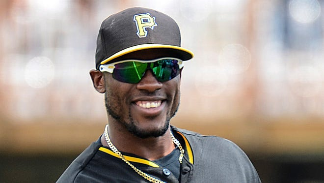 In his first full season in the majors, Starling Marte batted .280 with a team-high 41 steals.