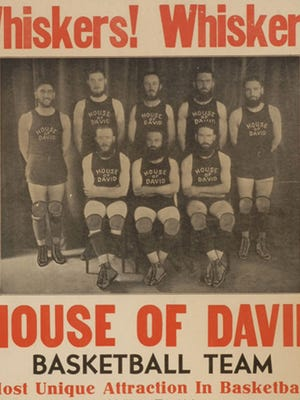 House of David promotional poster, about 1945.