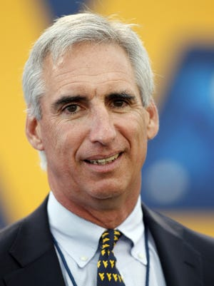 Oliver Luck is leaving West Virginia for the NCAA
