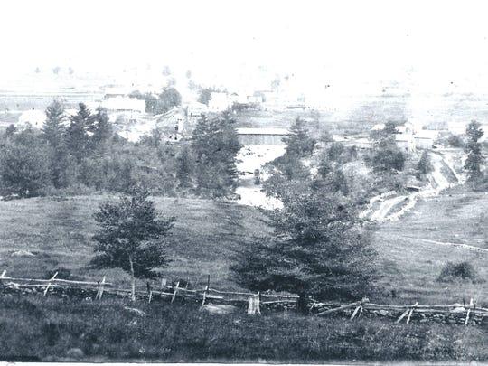 Enosburgh Falls circa 1870 (2)