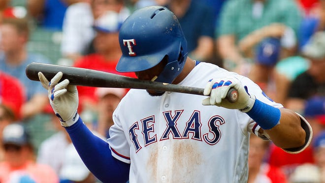 Carlos Gomez has six home runs in nine games since returning from the disabled list