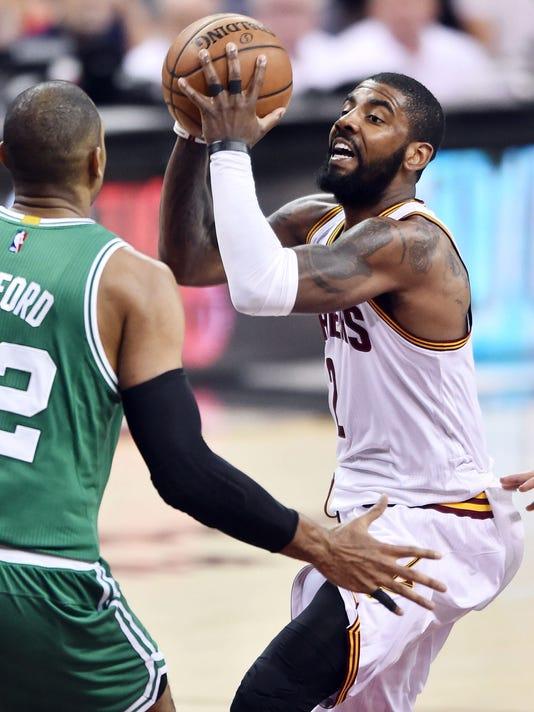 USP NBA: PLAYOFFS-BOSTON CELTICS AT CLEVELAND CAVA S BKN CLE BOS USA OH