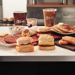 McDonald's announced Tuesday that it will begin sales of all-day breakfast throughout the U.S. on Oct. 6.