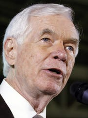 The wife of Sen. Thad Cochran, R-Miss., was in a Mississippi