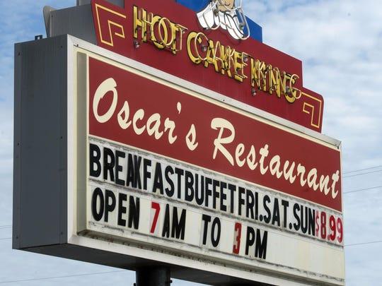 Oscar's Restaurant in Brownsville is under management.