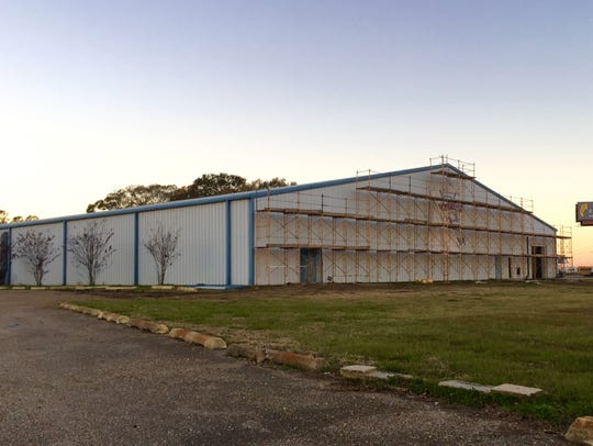 The Carencro Sports Complex is under construction at