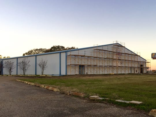 The Carencro Sports Complex is under construction at the old Carencro Hockey Plex