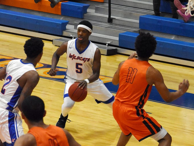 The Louisiana College Wildcats take on the University