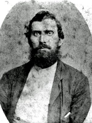 """Newt Knight, who led a group of anti-slavery Confederate deserters during the Civil War, is portrayed by Matthew McConaughey """"Free State of Jones."""""""