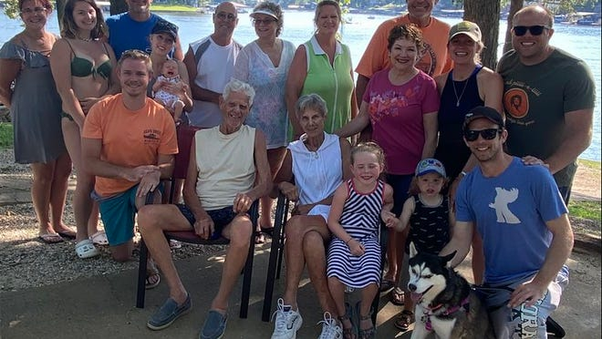 Four generations of the Winther family visit Lake of the Ozarks every year.