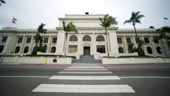 TROY HARVEY/THE STARThe Ventura City Hall building located in downtown Ventura will turn 100-years-old on July 4th.