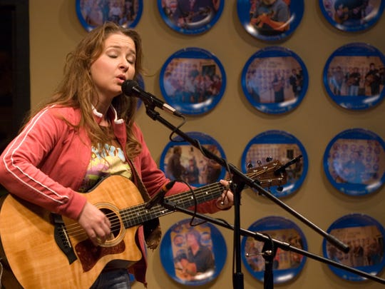 Reagan Boggs performs at the WDVX Blue Plate Special. The Avett Brothers, Sturgill Simpson and Chris Stapleton are among the acts who have graced the stage in Knoxville.
