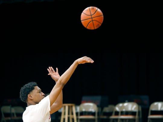 Northstar Christian Academy basketball player Miles