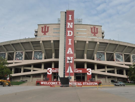 Iu football stadium enclosure approved for Exterior home improvement indianapolis