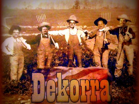 Dekorra will perform on Friday Aug. 18, 2017 at the Rising Star Mill in Nelsonville.