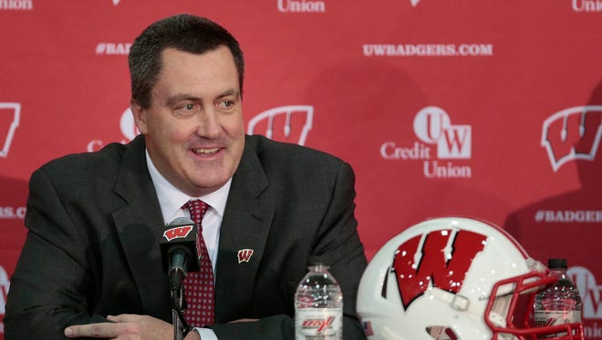 Wisconsin football coach Paul Chryst