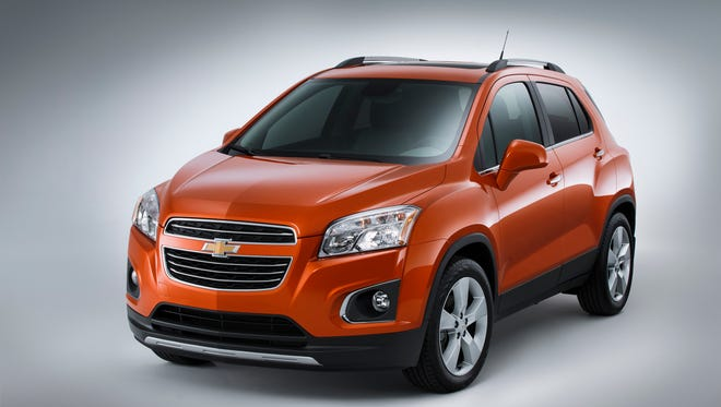 2015 Chevrolet Trax Front 7/8
