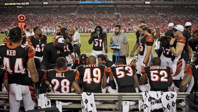 The Cincinnati Bengals defense looks to start faster against the Chicago Bears than they did in a Monday night loss in Tampa Bay.